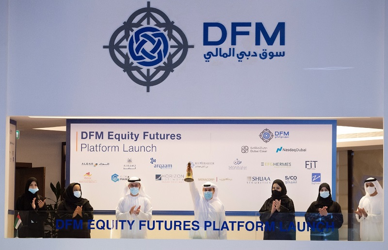 Equity Futures Launch - bell ringing 1